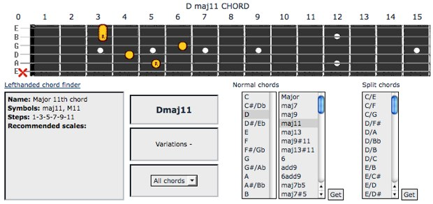 Chordbook – Beginners Guitar Lessons